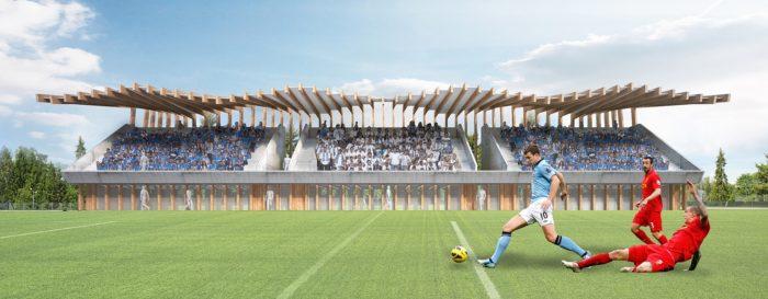 Kompleksowa koncepcja rozbudowy infarastruktury naszego klubu dotyczącą boisk sportowych.